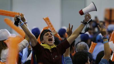 En fotos: Una intensa jornada electoral en Colombia que deja ganadores, perdedores y expectativas
