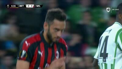 Highlights: Milan at Betis on November 8, 2018