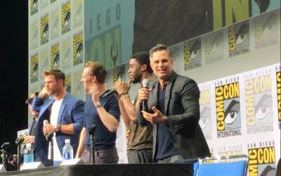 Presentación de Marvel Studios en Comic Con