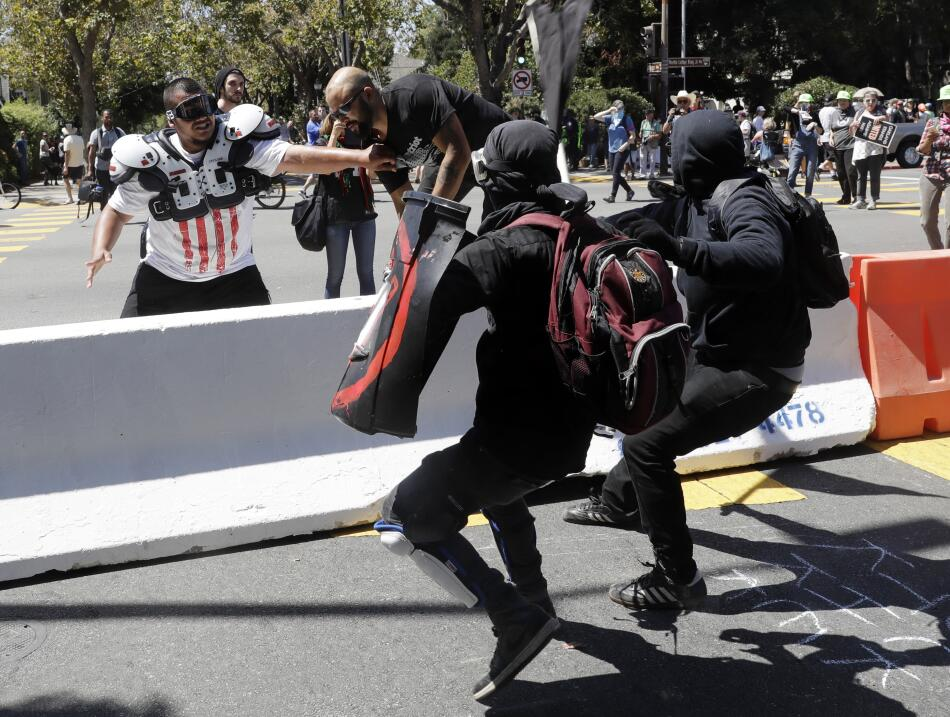 Protesta Berkeley Alt-Right