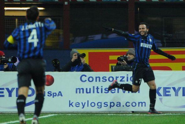 El partido era una fiesta para el Inter y una pesadilla para el Parma.