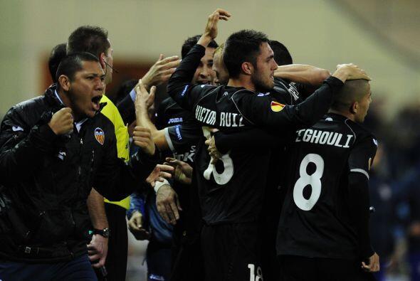 No contaban con que el Valencia aún marcaría un gol, justo en el último...