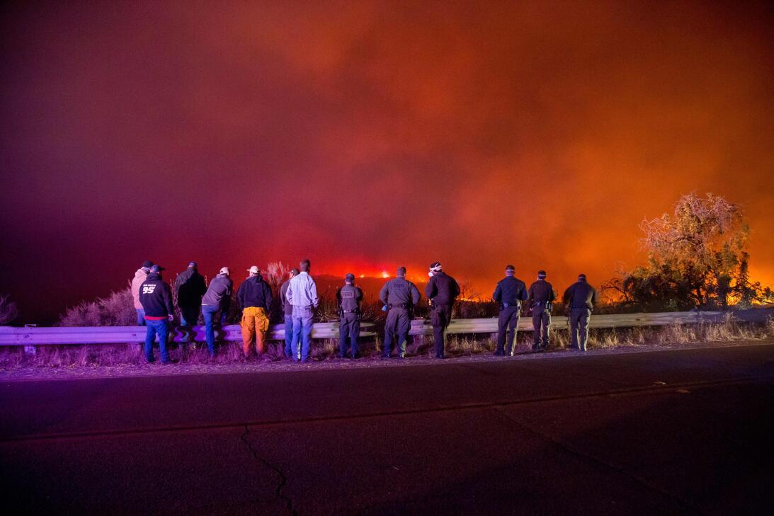 Incendio sur de California