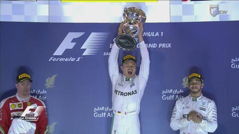 Nico Rosberg domina y se lleva el Gran Premio de Baréin