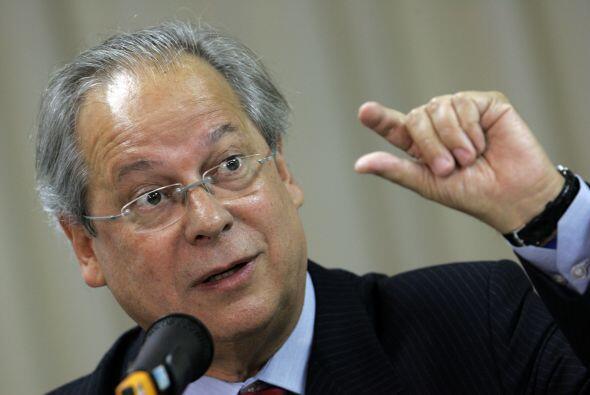 Noviembre 12- El exministro de la Presidencia de Brasil José Dirc...