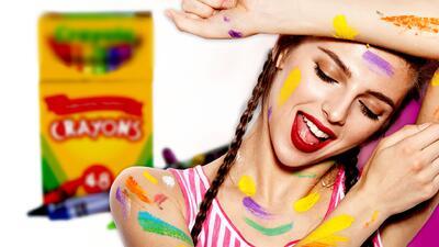 Regresa a tu infancia: ahora puedes maquillarte con colores inspirados en emblemáticos crayones