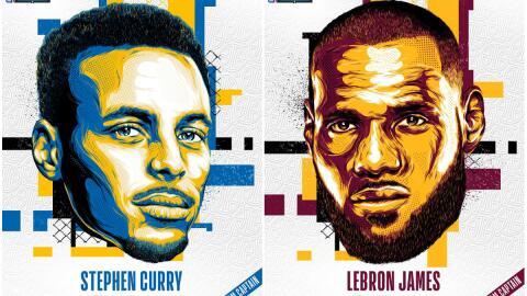 LeBron James y Stephen Curry volverán a enfrentarse, esta vez como capit...