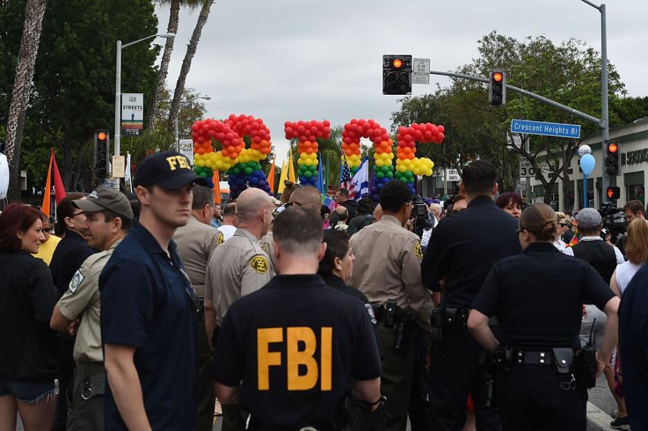 Autoridades locales y federales unieron esfuerzos para guardar el orden...