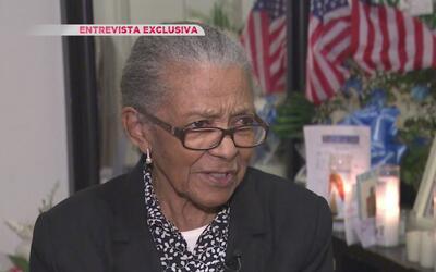 Conmovedoras palabras de la madre Miosotis Familia, la detective que fue...