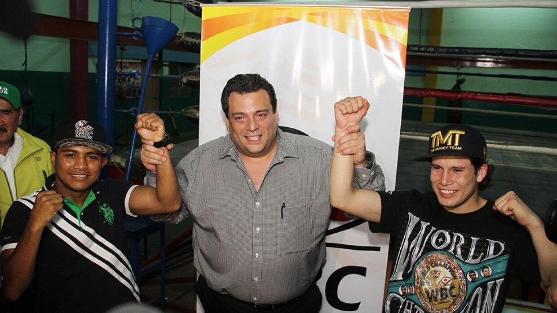 Cuadras y González se piede dar (Foto: CMB).