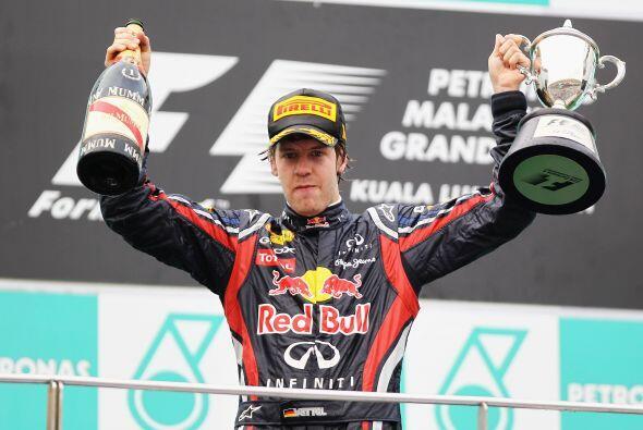 Vettel parece no tener rivales en la temporada de Fórmula 1 2011.