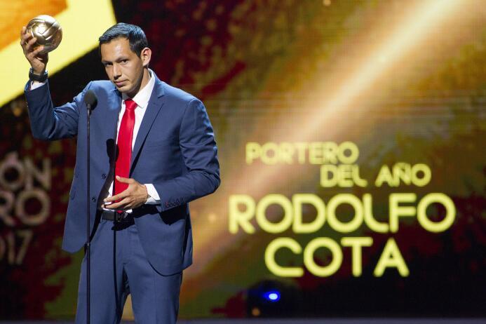 Ellos son los ganadores del Balón de Oro Rodolfo Cota Premio Mejor Porte...