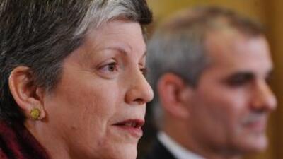 Janet Napolitano, secretaria de Seguridad Nacional de EU.