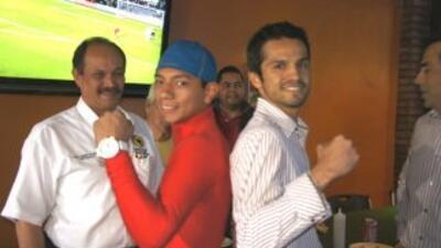 Mijares ya esá en Sonora para su pelea contra Alex Valdez (Foto: Ko Ente...