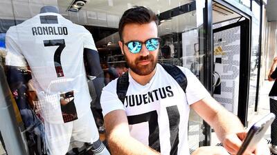 En fotos: La fiebre por Cristiano Ronaldo en Turín