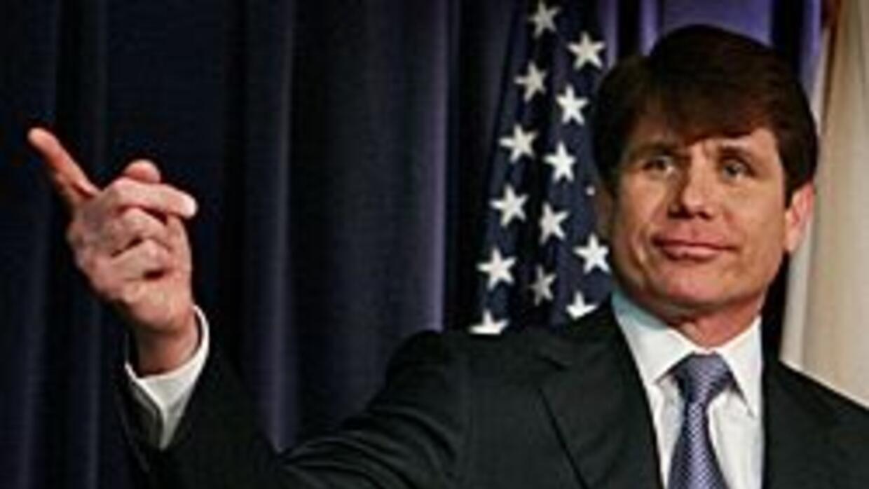 Blagojevich hizo caso omiso a las acusaciones en su contra y el martes n...