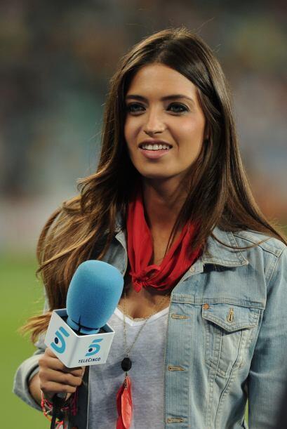 La bella reportera española Sara Carbonero es la novia del guardameta de...