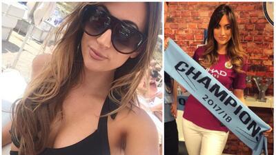 Kelly O'Donnell, la cara más sensual del Manchester City campeón de la Premier League
