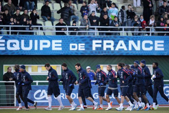 Las selecciones de Francia y Brasil se miden este miércoles en el Stade...
