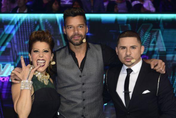 En la semana cuatro nos visitó Ricky Martin.