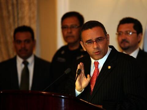 El presidente salvadoreño, Mauricio Funes advirtió que su...