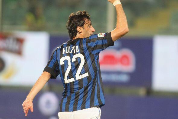 El argentino Diego Milito fue el autor del 1-0.