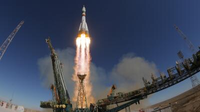 Así fue el espectacular escape de dos astronautas tras una falla en el cohete Soyuz