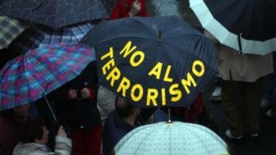 El 11 de marzo de 2004 un grupo islamista atacó el sistema de trenes de...
