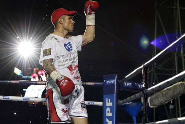 Martin Murray salió sin miedo a enfrentar a Martínez, el británico fue u...