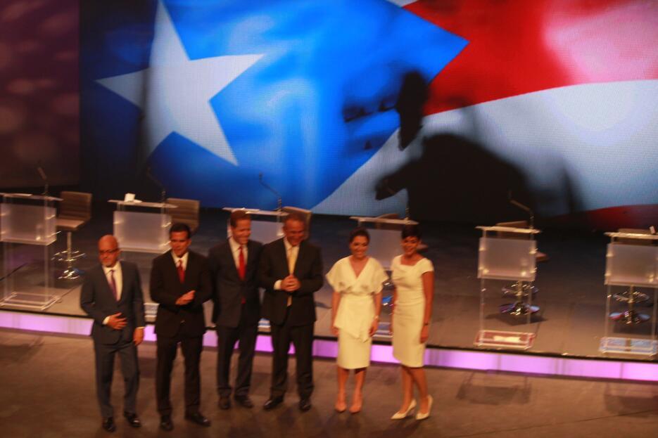 El último y decisivo debate entre los candidatos a la Gobernación puso c...