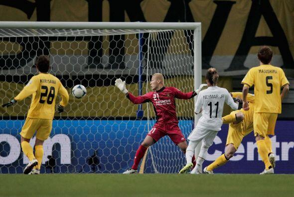 Santos llegó al 2 a 0 por intermedio de Humberlito Borges Teixeira.