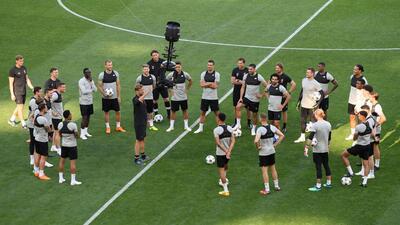 En fotos: Liverpool conoce el estadio en el que busca arrebatarle la gloria al Real Madrid