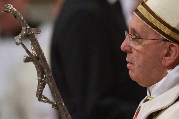 """La misa inició con el canto de la """"Kalenda"""", que en lat..."""