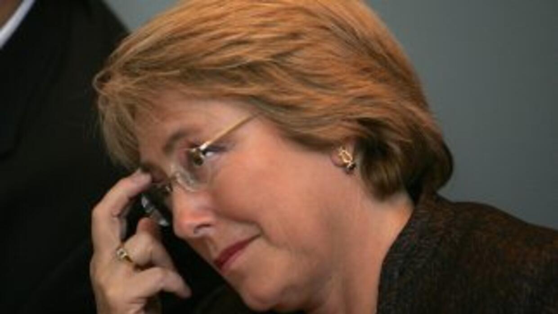 La expresidenta de Chile Michelle Bachelet aspira llegar, nuevamente, a...