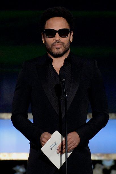 Puro estilo y seriedad, Lenny Kravitz