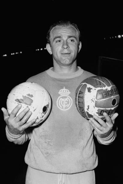 El nombre más ilustre de Real Madrid, Alfredo Di Stéfano, también es par...