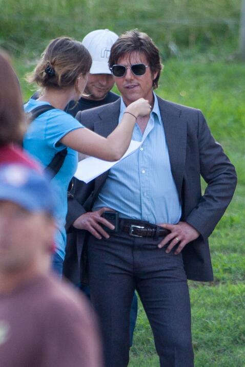 Tom Cruise y su asistente