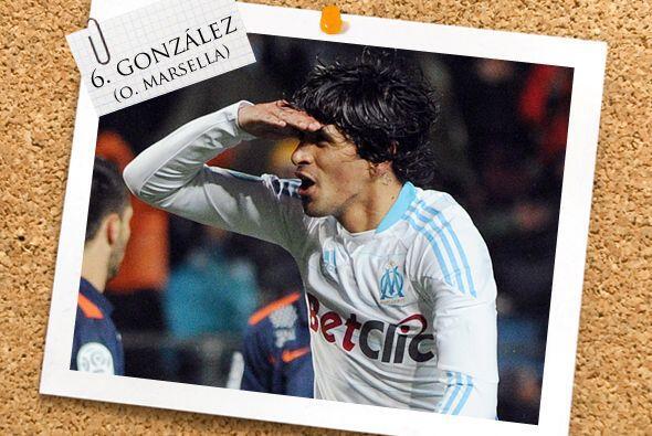 En la contención, el argentino 'Lucho' González también sabe marcar, com...