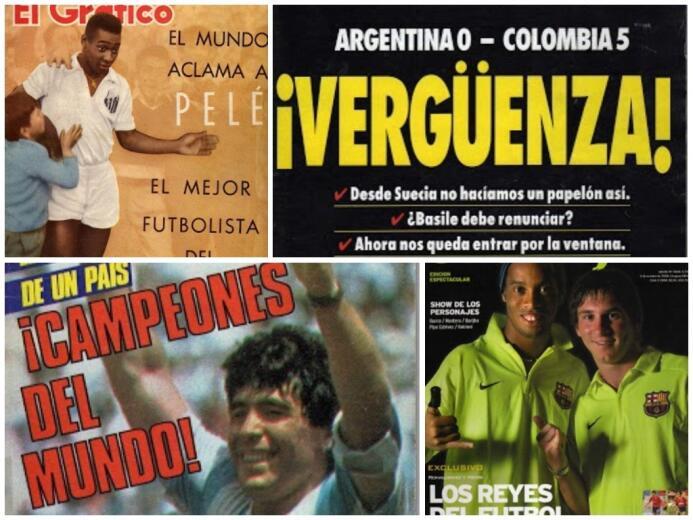 Adiós a un ícono del periodismo: 20 portadas históricas de El Gráfico un...
