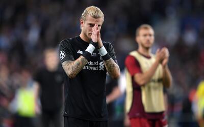 El portero del Liverpool ha sido amenzado tras los errores cometidos en...