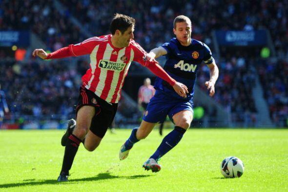 Manchester United visitó al Sunderland buscando consolidar su ventaja de...