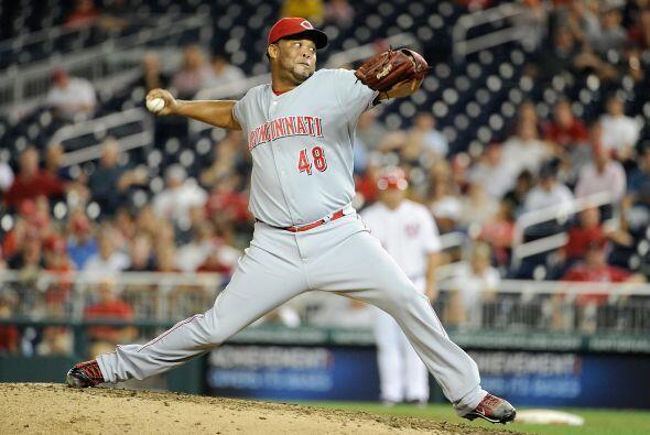 RP. Francisco Cordero. Rojos de Cincinnati. El dominicano logró tres sal...