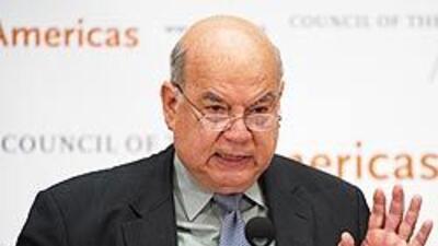 Insulza considera 'mala práctica' posición de Chávez sobre candidato San...