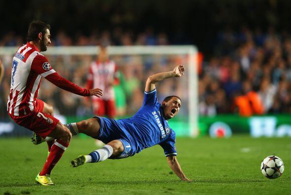 Hazard (6): Fue el más peligroso del Chelsea mientras le duraron las fue...