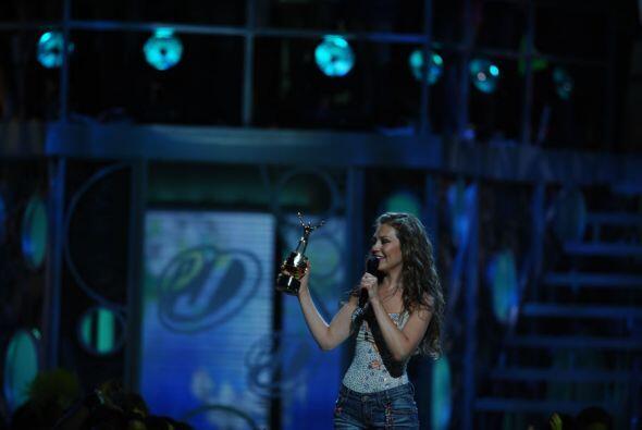 En ese año fue galardonada con el Premio Diva.