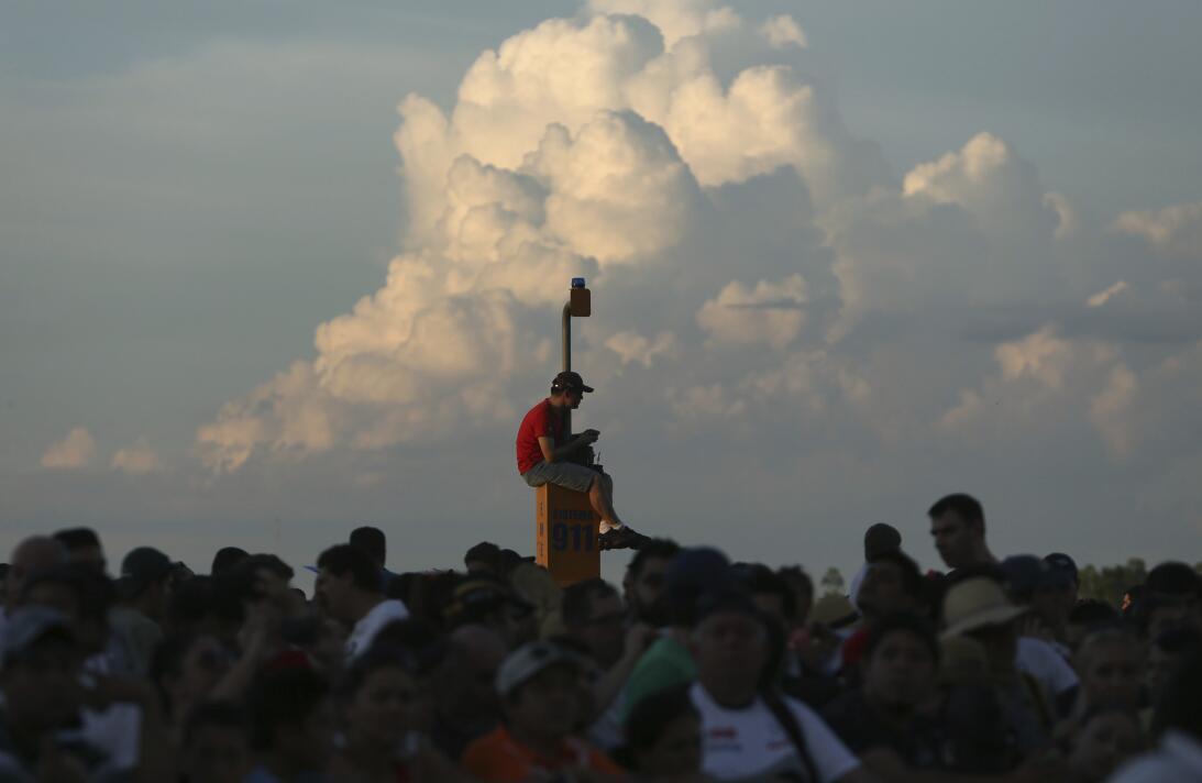 Así fue el comienzo del Rally Dakar en Paraguay AP_17002030905614.jpg