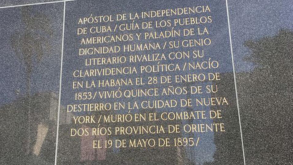 Estatua Martí