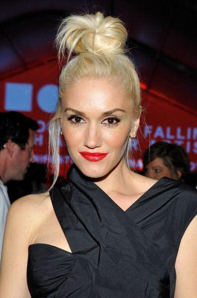 ¡Gwen Stefani no se separa de su labial color rojo! A esta rubia le gust...