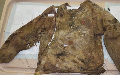 El suéter que llevaba puesto una víctima de la Mara Salvat...