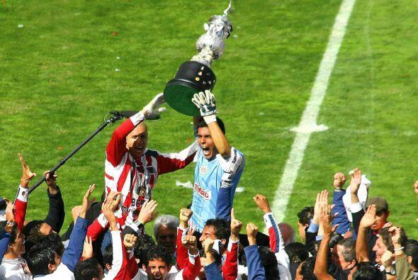 Las Chivas del 2006 lograron un título que se les había negado por años,...